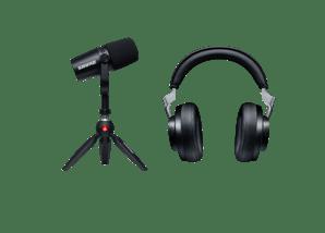 MV7 Kit and Wireless Headphone Bundle