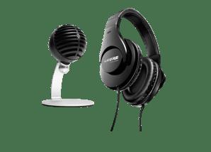 Bundle Microfono per Home Office & Cuffia