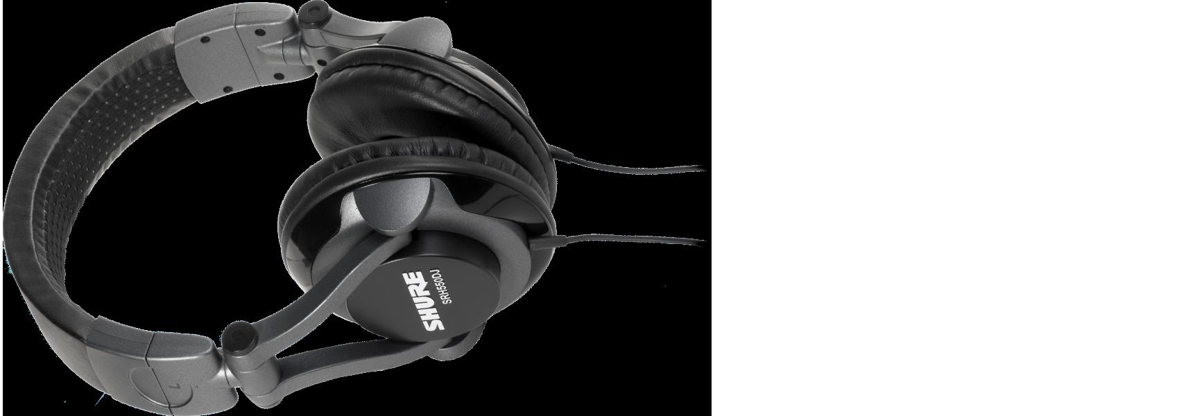 Ilustración Shure SRH550DJ Auriculares de DJ