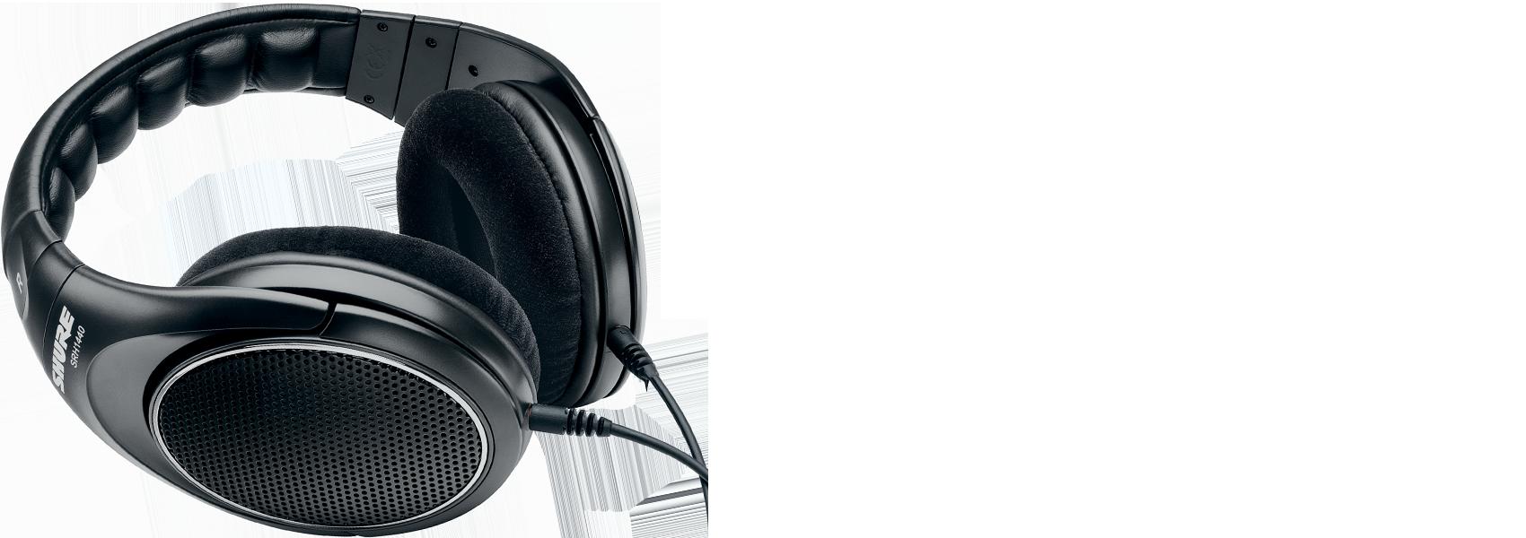 Ilustración Shure SRH1440 Auriculares profesionales de diseño abierto