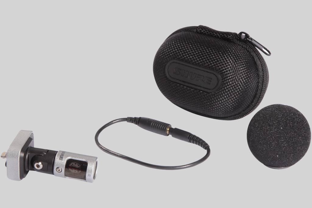 Ilustración Shure Micrófono digital estéreo de condensador