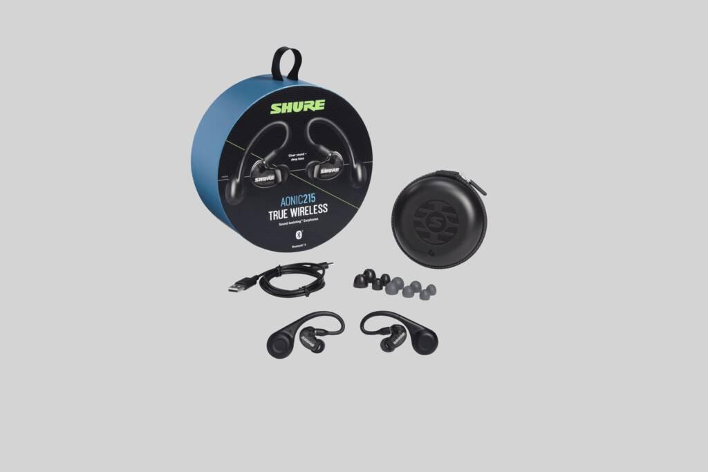Ilustración Shure Auriculares con Aislamiento de Sonido True Wireless