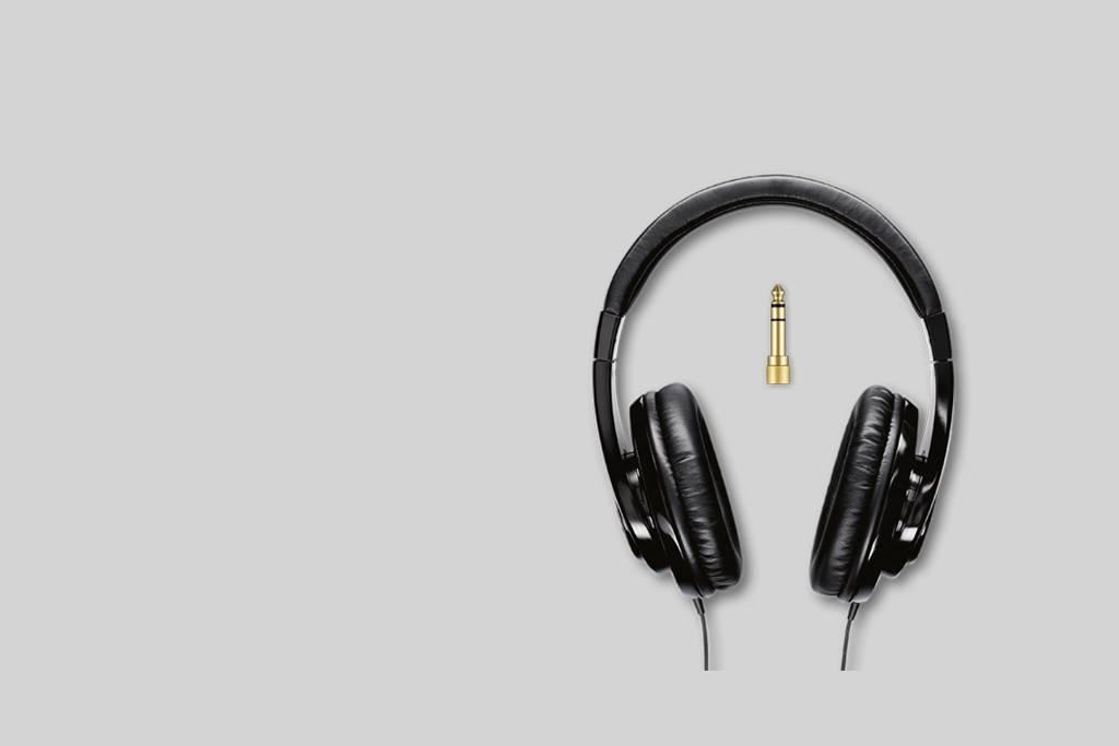 Ilustración Shure SRH240A Auriculares de calidad profesional
