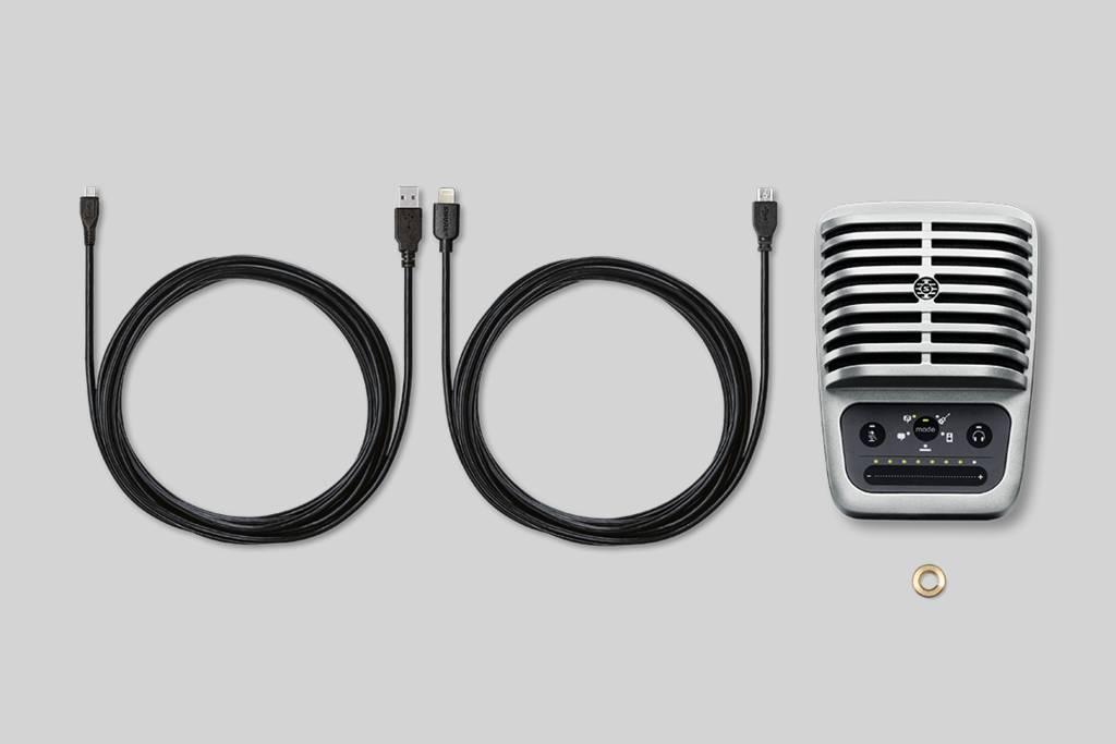 Ilustración Shure MOTIV™ MV51 Micrófono digital de condensador de gran diafragma