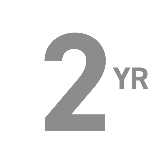 Inclusief twee jaar garantie