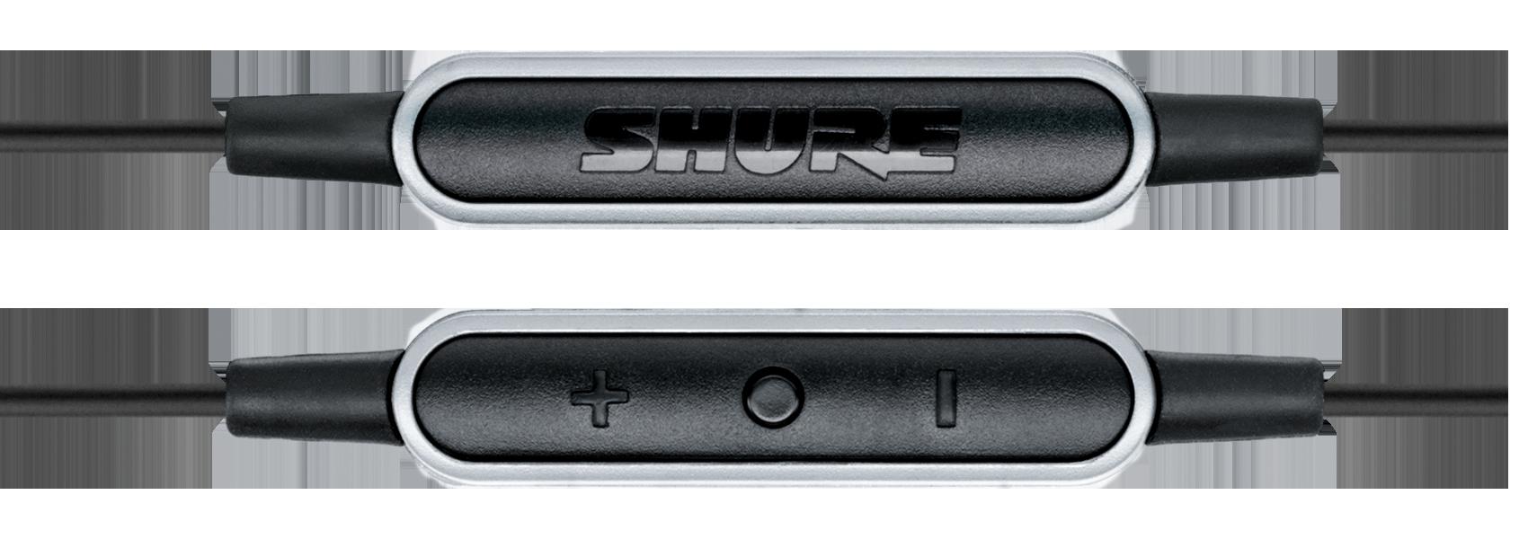 Ilustración Shure SRH145m+ Auriculares portátiles con control remoto y micrófono
