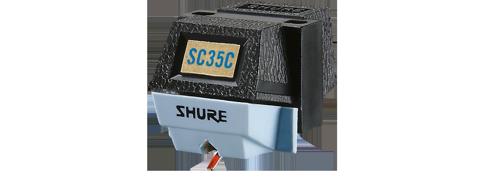 Ilustración Shure SC35C Cápsula de giradiscos