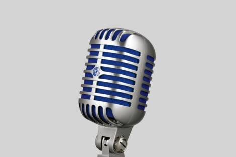 Ilustración Shure Super 55 Deluxe Vocal Microphone