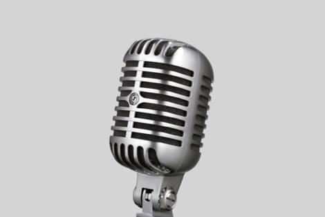 "Ilustración Shure 55SH The legendary ""Elvis-Microphone"""