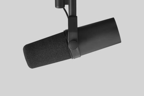 Ilustración Shure SM7B Studio Microphone