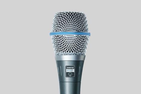 Ilustración Shure Beta 87A Vocal Microphone