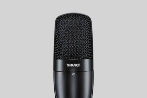 Ilustración Shure SM27-LC
